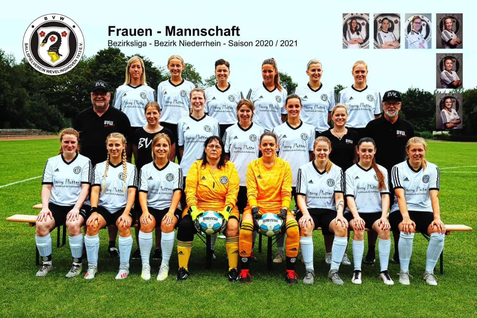 Frauenmannschaft - Saison 2020/21